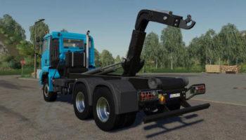 Мод грузовик MAN TGS 26.500 6×6 Truck v1.0 для Farming Simulator 2015