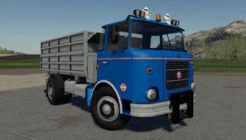 Мод грузовик Skoda Liaz 706 + MTS Korby v1.0.0.0 для Farming Simulator 2015