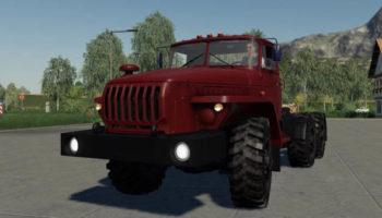 Мод грузовик Урал 4320Т 10 v3.5 для Farming Simulator 2015