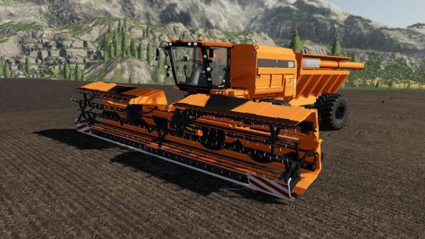 Мод комбайн Tribine T1000 V2.0 для Farming Simulator 2015