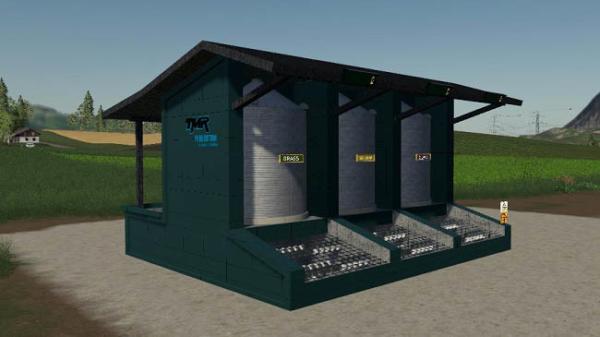 Мод миксер TMRStation v1.0 для Farming Simulator 2015