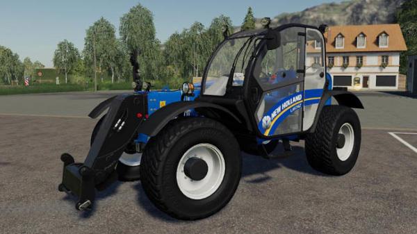 Мод погрузчик New holland LM7 42 & TH7 42 v1.0 для Farming Simulator 2015