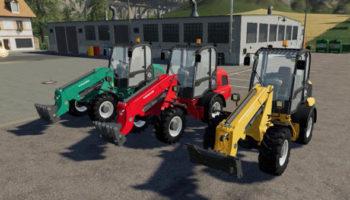 Мод погрузчик Weidemann Pack v1.0 для Farming Simulator 2015