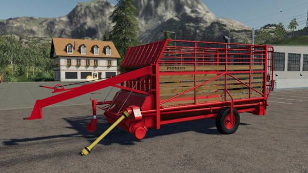 Мод прицеп Pottinger pioneer v1.0.0.0 для Farming Simulator 2015