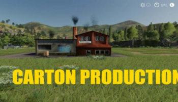 Мод производство Carton Factory v1.0.7.0 для Farming Simulator 2015