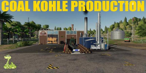 Мод производство Coal Kohle Production v1.0 для Farming Simulator 2015