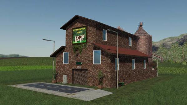 Мод производство FermenterSilo v1.0 для Farming Simulator 2015