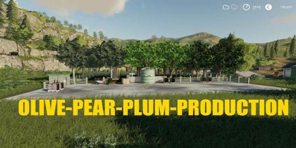 Мод производство Olive Production v1.0 для Farming Simulator 2015