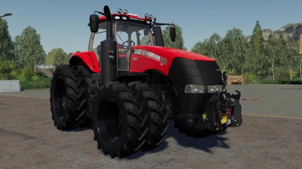 Мод трактор Case Magnum Series v2.1.0.0 для Farming Simulator 2015
