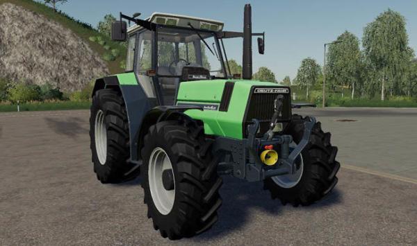 Мод трактор Deutz Fahr Agrostar 6×1 v1.0.0.0 для Farming Simulator 2015