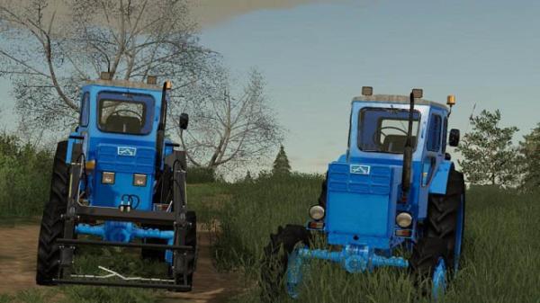 Мод трактор ЛТЗ Т-40АМ v1.0.1 для Farming Simulator 2015