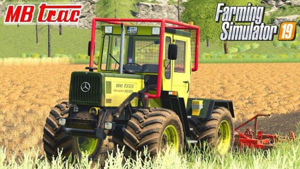 Мод трактор MB Trac 1000 Intercooler v1.3 для Farming Simulator 2015
