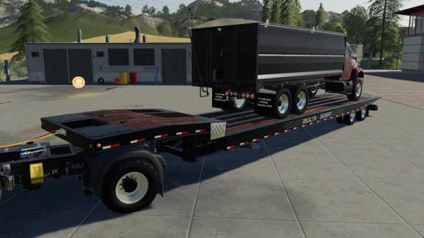 Мод трал KaylnSIebert48ft Tiltdeck v1.0 для Farming Simulator 2015