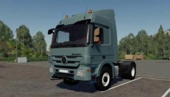 Мод тягач Mercedes Actros Highway v1.0 для Farming Simulator 2015