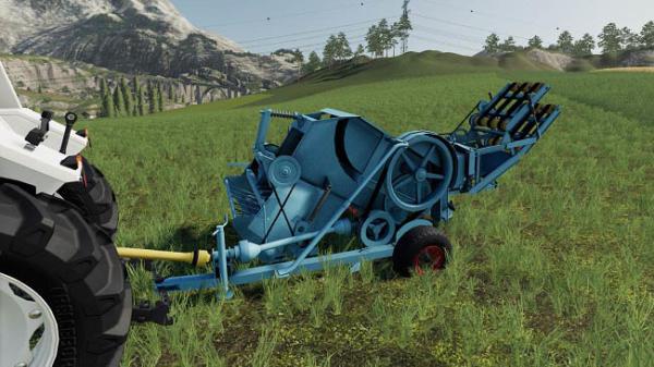 Мод тюковщик Fortschritt K442 v1.0.0.0 для Farming Simulator 2015