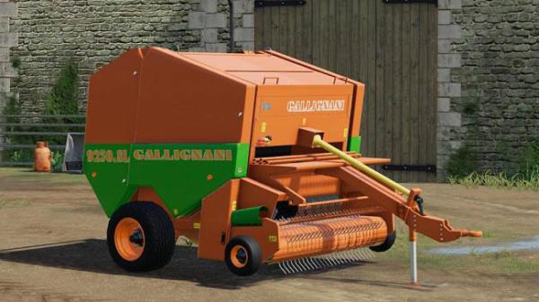 Мод тюковщик Gallignani 9250 SL v1.0.0.0 для Farming Simulator 2015