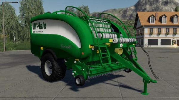 Мод тюковщик Mchale Fusion 3 v1.0.0.0 для Farming Simulator 2015